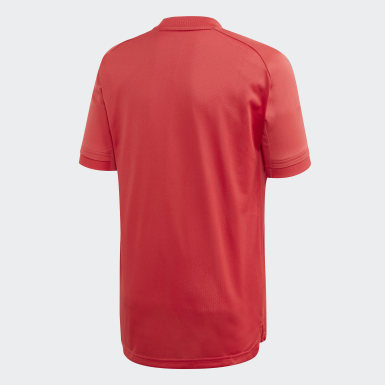 Kinderen Voetbal rood België Trainingsshirt