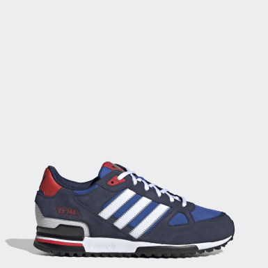 Men Originals Blue ZX 750 Shoes