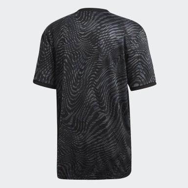 Men Football Black Tango Jersey