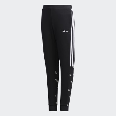 Pants Core Favorites Negro Niño Sport Inspired