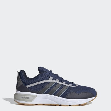 Men Sport Inspired Blue 90s Runner Shoes