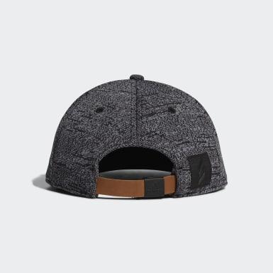 กอล์ฟ สีดำ หมวกแก๊ปปีกแบน Adicross