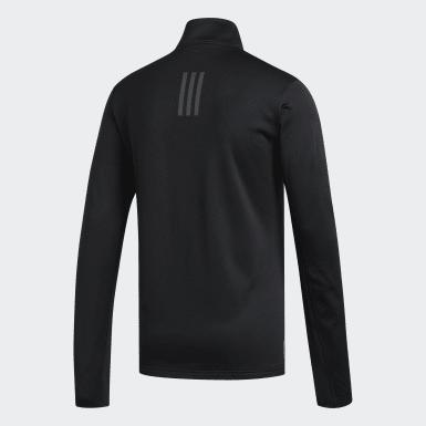 Mænd Løb Sort Response Climawarm 1/4 Zip trøje