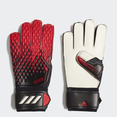 Football Black Predator 20 Match Goalkeeper Gloves
