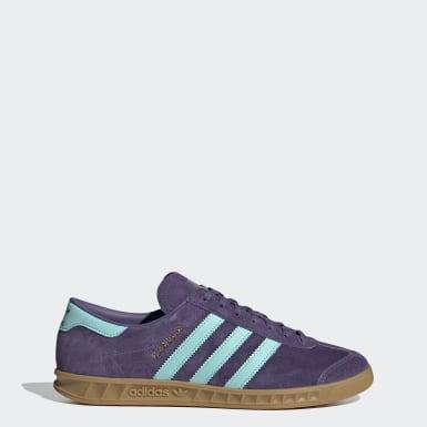 Sapatos Hamburg Roxo Homem Originals