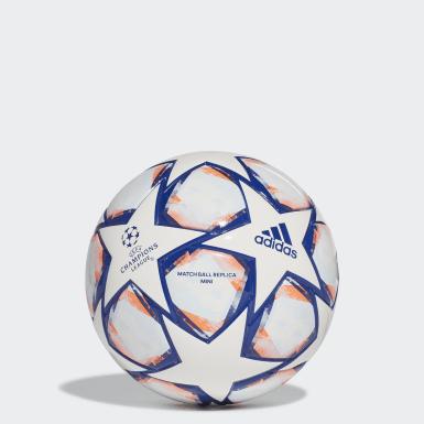 Minibalón UCL Finale 20 Blanco Fútbol