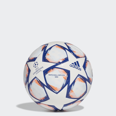 Men Football White UCL Finale 20 Mini Ball