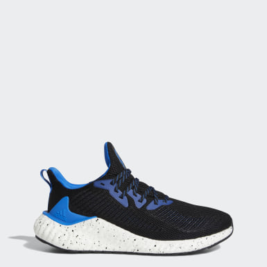 Men's Running Black Alphaboost Shoes