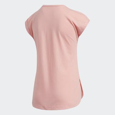 T-shirt Dolman rose Enfants Entraînement