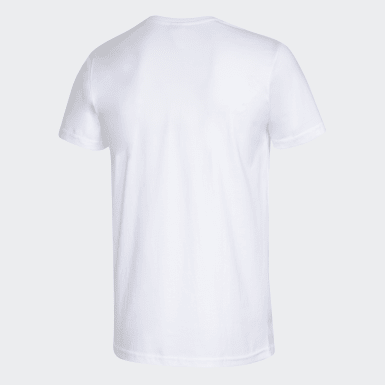Heren Athletics Wit BLANK G TEE M