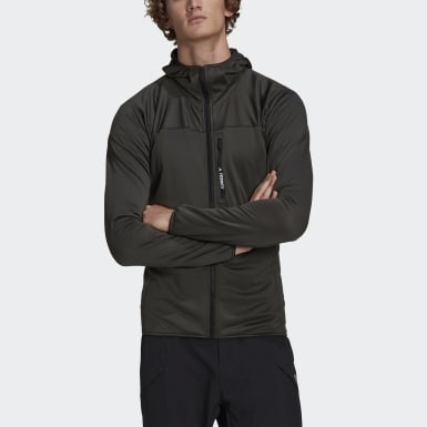 Άνδρες TERREX Πράσινο TERREX TraceRocker Hooded Fleece Jacket