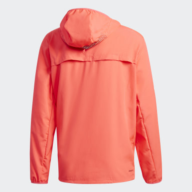 Άνδρες Τρέξιμο Ροζ Activated Tech Primeblue Windbreaker