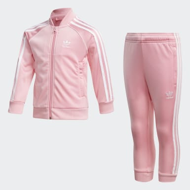 Kids Originals Pink SST Track Suit