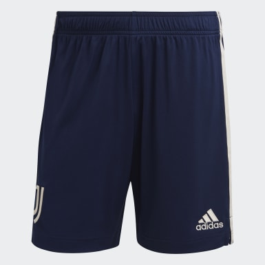 Men Football Blue Juventus 20/21 Away Shorts