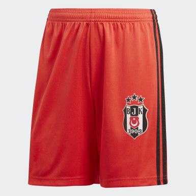 Youth Football Burgundy Beşiktaş JK Away Shorts