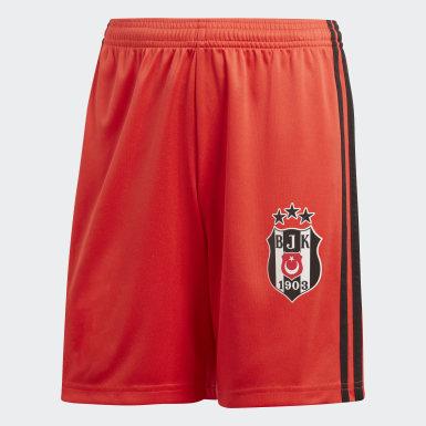 Genç Futbol Bordo Beşiktaş JK Deplasman Şortu