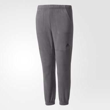 серый Флисовые брюки