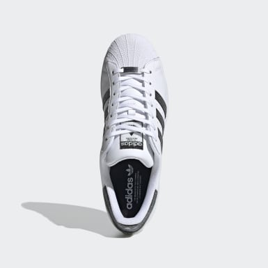 Originals Wit Superstar Schoenen met Swarovski® Kristallen