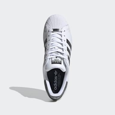 Originals Superstar Schuh mit Swarovski® Kristallen Weiß