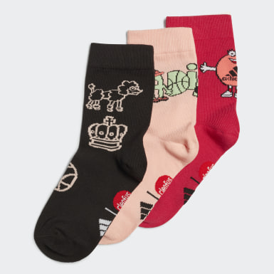 розовый Три пары носков Cleofus Graphic