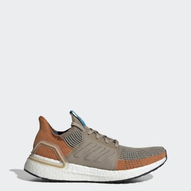 Sapatos Ultraboost 19 Laranja Homem Running