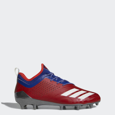 Men's Lacrosse Red Adizero 5-Star 7.0 Philadelphia Low Cleats