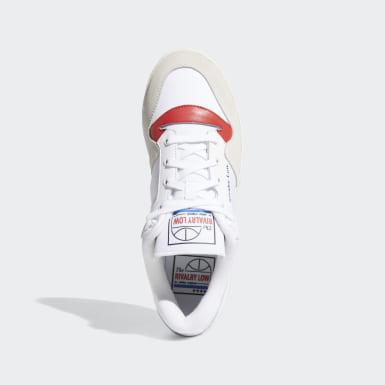 Men's Originals White Rivalry Low Shoes