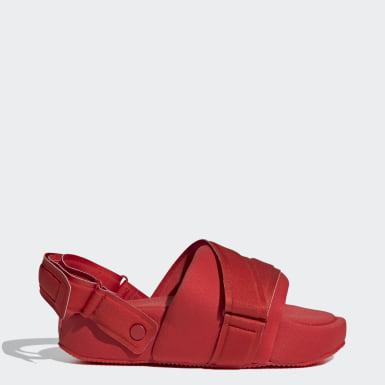Muži Y-3 červená Pantofle Y-3 Comfylette High