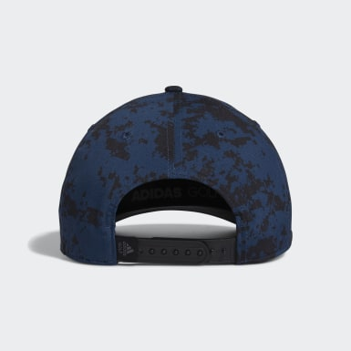 Men Golf Blue Tour Camo-Print Hat