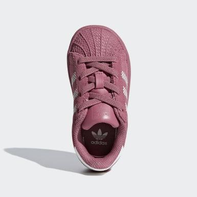 Infant Originals Pink Superstar Shoes