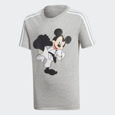 Boys Lifestyle Grey Karate Tee