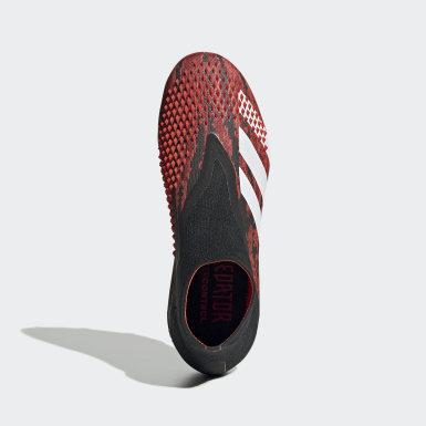 Chaussure Predator Mutator 20+ Terrain souple Noir Garçons Football