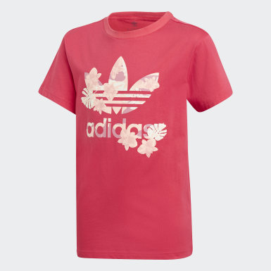 Youth 8-16 Years Originals Pink T-Shirt