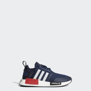 Children Originals Blue NMD_R1 Shoes