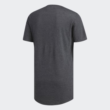 Men Running Grey Supernova Pure Tee