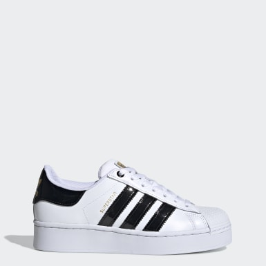 Γυναίκες Originals Λευκό Superstar Bold Women's Shoes