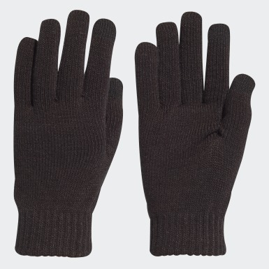 Running Black Performance Gloves