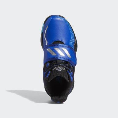Chaussure Deep Threat Bleu Enfants Basketball