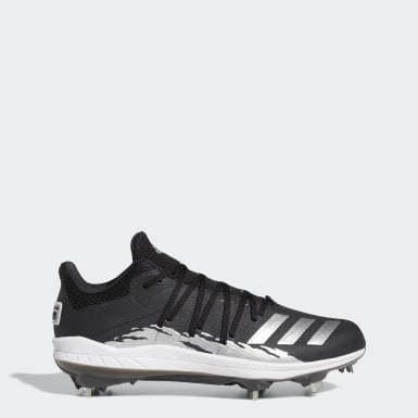 Men's Baseball Black Afterburner 6.0 Speed Trap Cleats