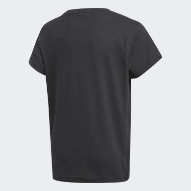 เด็ก Originals สีดำ เสื้อยืดพิมพ์ลาย