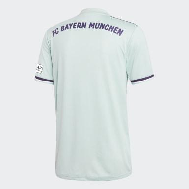 Maglia Away FC Bayern München Turchese Uomo Calcio
