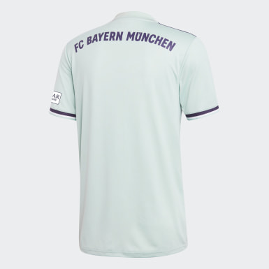 Maillot FC Bayern Extérieur Turquoise Hommes Football