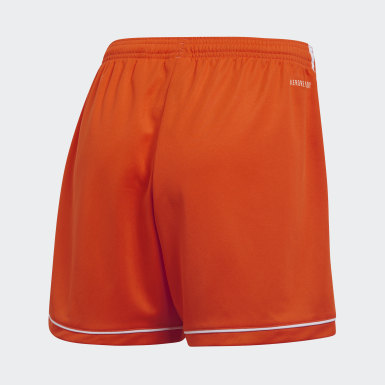 Women's Soccer Orange Squadra 17 Shorts