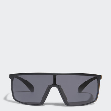 Padeltennis Svart SP0004 Shiny Black Injected Sport Sunglasses