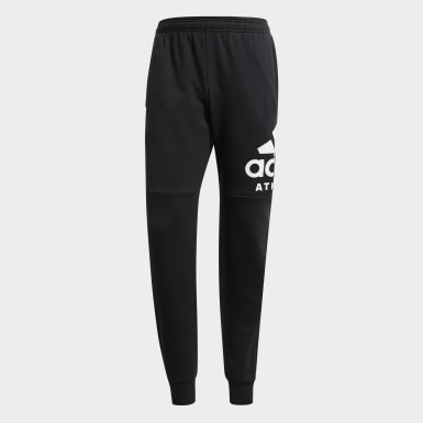 Men Athletics Black Sport ID Joggers