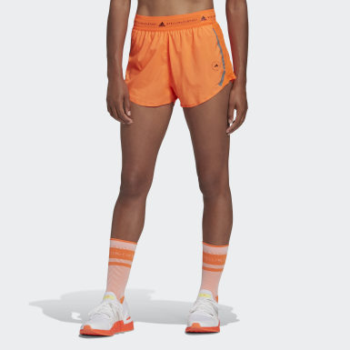 Dames adidas by Stella McCartney Oranje adidas by Stella McCartney TruePace Multipurpose Short