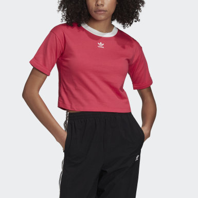 Frauen Originals Crop-Top Rosa