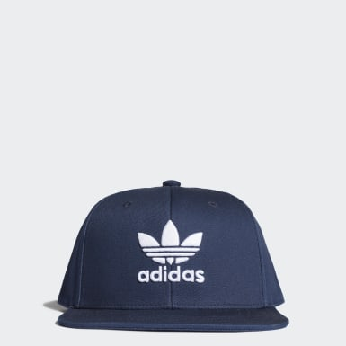 Originals Snapback Trefoil Kappe Blau
