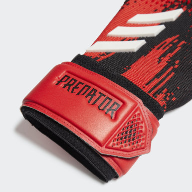 Football Black Predator 20 League Gloves