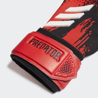 Football Black Predator 20 League Goalkeeper Gloves